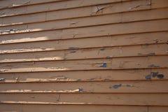 древесина выдержанная siding Стоковые Фото
