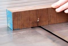 древесина вырезывания Стоковое фото RF