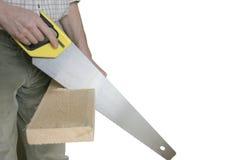 древесина вырезывания Стоковая Фотография RF