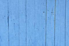 Древесина голубой деревянной предпосылки планок старая винтажная голубого пляжного домика стоковое изображение rf