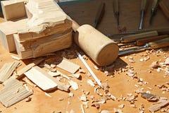 древесина гравера Стоковые Изображения