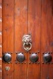 древесина двери старая Стоковые Фото