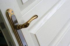 древесина двери Стоковое Изображение RF