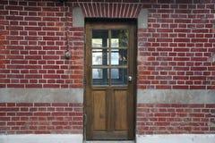 древесина двери стоковое изображение