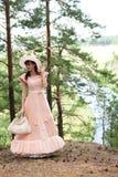 древесина девушки Стоковые Фото