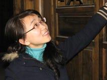 древесина девушки Стоковая Фотография RF