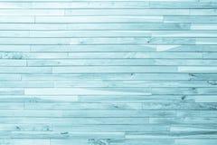 Древесина деревянной планки голубая вся античная треснутая выдержанная мебель Стоковые Фото