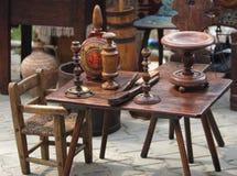 древесина деталей мебели старая Стоковая Фотография