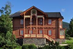 древесина дома Стоковая Фотография
