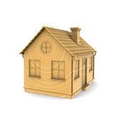 древесина дома иллюстрация штока