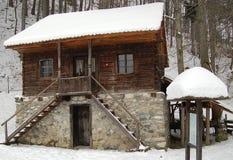 древесина дома Стоковые Фото