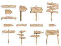 древесина дорожного знака Стоковое Фото