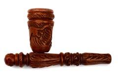 древесина дыма shaman трубы гашиша Стоковое Фото