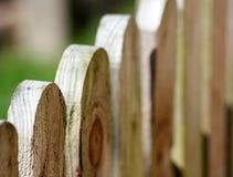 древесина загородки Стоковое Изображение