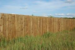 древесина загородки Стоковая Фотография