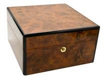 древесина замка узелка коробки Стоковое Изображение RF