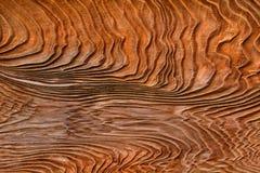 древесина зерна предпосылки текстурированная панелью выдержанная Стоковое Фото