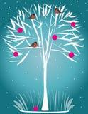 Древесина зимы Стоковое Фото