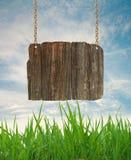 древесина знака Стоковая Фотография