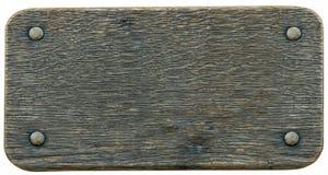 древесина знака nameboard предпосылки Стоковая Фотография RF