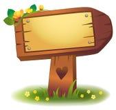 древесина знамени бесплатная иллюстрация