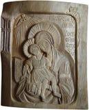 древесина иконы Стоковая Фотография RF