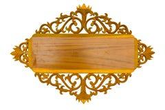 древесина картины доски тайская Стоковое фото RF