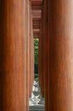 древесина колонок 2 Стоковое Изображение