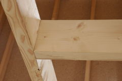 древесина конструкции Стоковое Фото