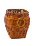 древесина корзины ретро Стоковая Фотография