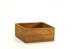 древесина коробки пустая Стоковая Фотография RF