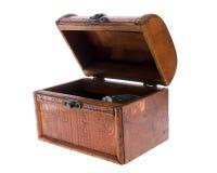 древесина коробки Стоковое Изображение