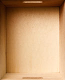 древесина коробки Стоковая Фотография RF
