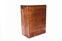 древесина коробки Стоковые Изображения