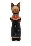 древесина кота книги Стоковые Фотографии RF