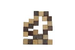 Древесина кубическая Стоковое Изображение RF