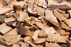 древесина кучи Стоковая Фотография