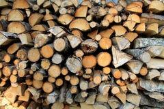 древесина кучи Стоковые Изображения