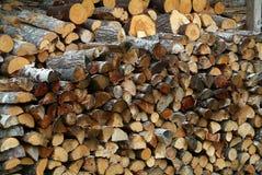 древесина кучи Стоковое Изображение RF