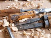 древесина мастерства Стоковые Фотографии RF