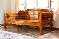древесина мебели самомоднейшая стоковая фотография