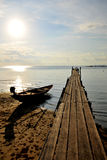древесина моря моста Стоковое Фото