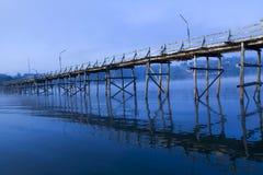 древесина моста Стоковые Изображения