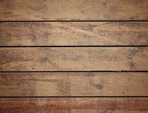 древесина огорченная коричневым цветом Стоковое Изображение RF