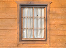 древесина окна Стоковые Изображения
