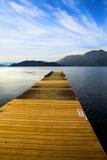 древесина палубы Стоковые Фото