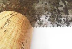 древесина пилы Стоковое Изображение RF