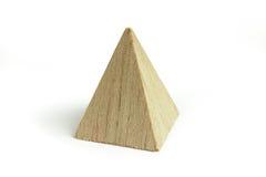 древесина пирамидки блока Стоковые Фотографии RF