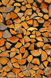 древесина пожара Стоковое Фото