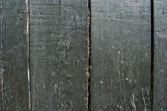 Древесина покрашенная в черном цвете старая древесина Стоковая Фотография RF